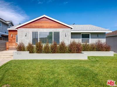 Single Family Home For Sale: 7808 Goddard Avenue