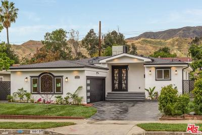 Sunland Single Family Home Active Under Contract: 8653 Wentworth Street
