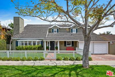 Pacific Palisades Single Family Home For Sale: 16738 Bollinger Drive