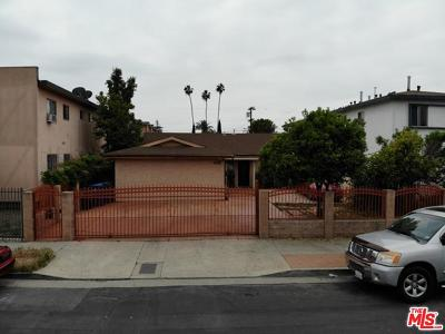 Mid Los Angeles (C16) Single Family Home Active Under Contract