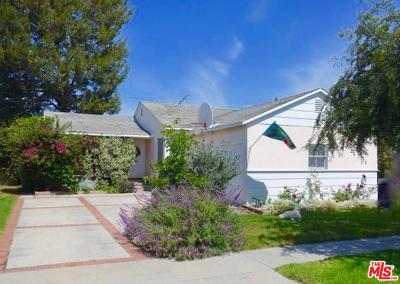 Los Angeles County Single Family Home Active Under Contract: 11465 Culver Park Drive