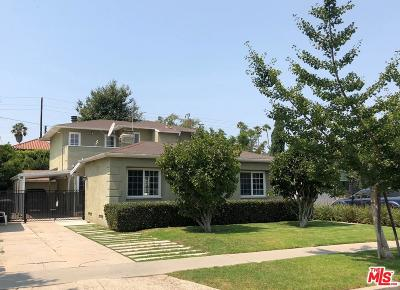 Los Angeles County Single Family Home Active Under Contract: 2671 Greenfield Avenue