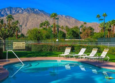 Palm Springs Condo/Townhouse Active Under Contract: 401 South El Cielo Road #160