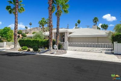 Palm Springs Single Family Home Active Under Contract: 1107 East Marion Way