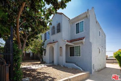Residential Income Active Under Contract: 1839 South La Brea Avenue