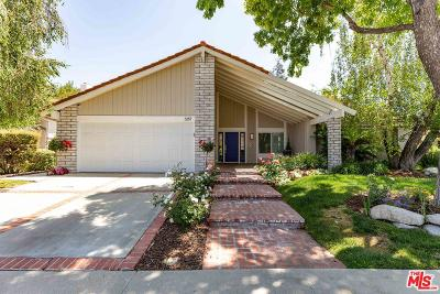 Westlake Village Single Family Home Active Under Contract: 3287 Sierra Drive