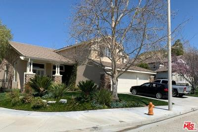 Canyon Country Single Family Home Active Under Contract: 17835 Timber Branch Place