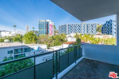 West Hollywood Condo/Townhouse Active Under Contract: 1155 North La Cienega #714