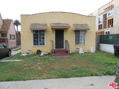 Mid Los Angeles (C16) Single Family Home For Sale: 2423 South Cochran Avenue