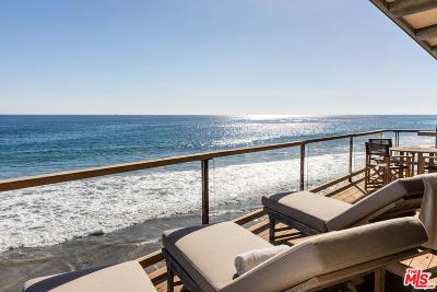 Malibu Single Family Home For Sale: 31952 Pacific Coast Highway #1/2