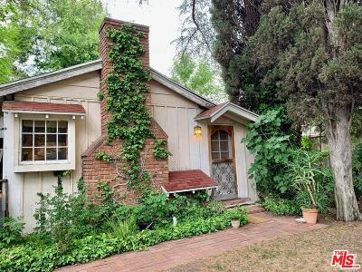 Sherman Oaks Single Family Home Active Under Contract: 15107 Hesby Street