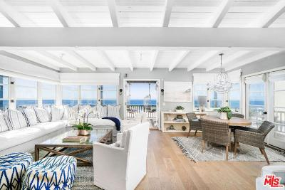 Malibu Single Family Home For Sale: 20816 Pacific Coast Highway