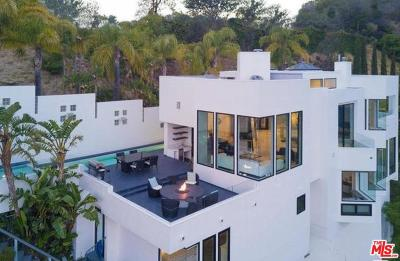 Los Angeles County Single Family Home For Sale: 2231 Sunset Plaza Drive