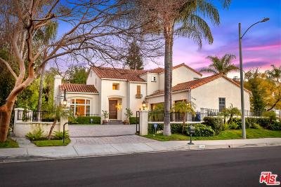 Calabasas Single Family Home For Sale: 3466 Consuelo Drive