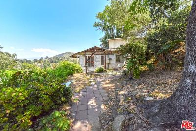 Hollywood Single Family Home For Sale: 6850 Cahuenga Park Trail Trails