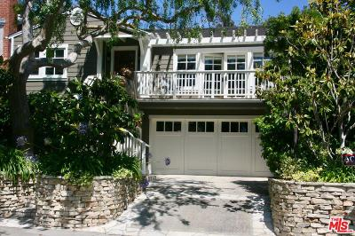 Pacific Palisades Single Family Home Active Under Contract: 708 Haverford Avenue