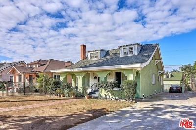 Mid Los Angeles (C16) Single Family Home For Sale: 1635 4th Avenue