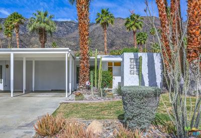 Palm Springs Condo/Townhouse For Sale: 2375 South Calle Palo Fierro
