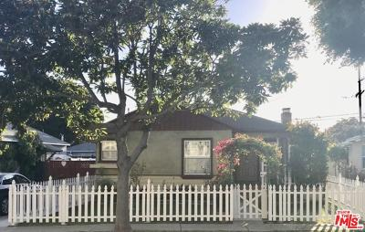 Culver City Single Family Home For Sale: 4331 Sawtelle