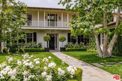 Single Family Home For Sale: 301 North Carmelina Avenue
