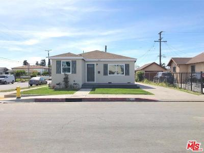 Los Angeles Single Family Home For Sale: 8833 Mary Avenue