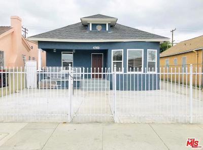 Los Angeles Single Family Home For Sale: 9415 Zamora Avenue
