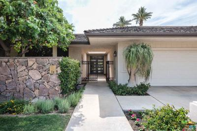 Rancho Mirage Single Family Home For Sale: 74 Princeton Drive