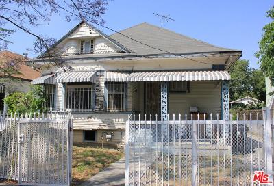 Los Angeles Single Family Home For Sale: 627 East 28th Street