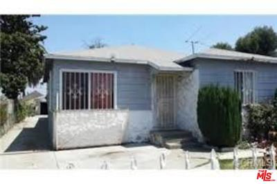 Los Angeles Single Family Home For Sale: 1941 East 115th Street