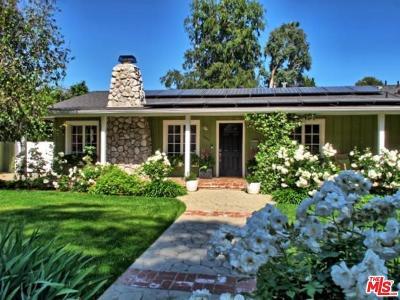 Studio City Single Family Home Active Under Contract: 4650 Bellaire Avenue