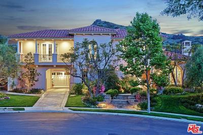 Calabasas Single Family Home For Sale: 25002 Prado De Los Pajaros