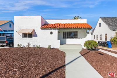 Los Angeles Single Family Home For Sale: 2217 West 76th Street
