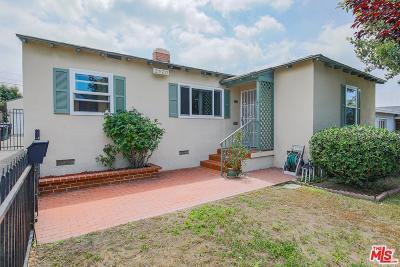 Burbank Single Family Home Active Under Contract: 2520 North Keystone Street