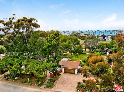 Malibu Single Family Home For Sale: 6579 Wandermere Road