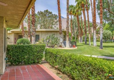Palm Springs Condo/Townhouse For Sale: 2440 South Oakcrest Drive