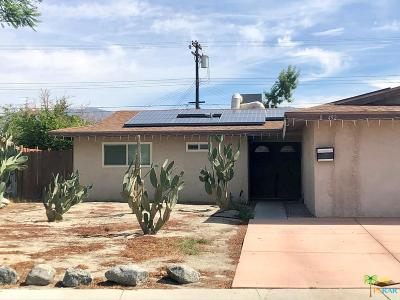 Indio Single Family Home Active Under Contract: 83492 Emerald Avenue