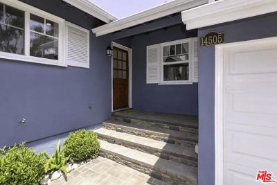 Pacific Palisades Single Family Home For Sale: 14505 West Sunset