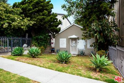 Single Family Home For Sale: 3756 Sawtelle