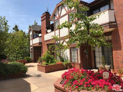 Valley Village Condo/Townhouse For Sale: 5317 Wilkinson Avenue #5