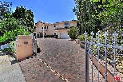 Single Family Home For Sale: 16720 Encino Hills Drive