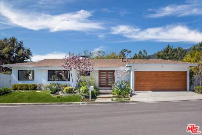 Los Angeles Single Family Home For Sale: 1287 Casiano Road