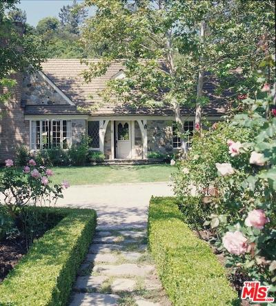 Los Angeles Single Family Home For Sale: 1977 Mandeville Canyon Road