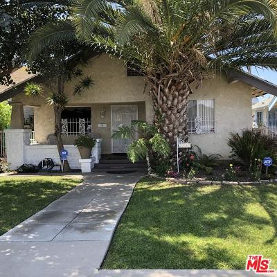 Los Angeles Single Family Home For Sale: 1808 West 46th Street