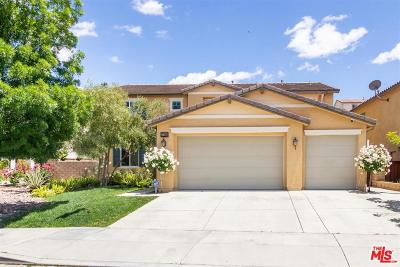 Canyon Country Single Family Home Active Under Contract: 27360 Rose Mallow Lane