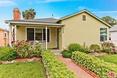 Los Angeles Single Family Home Active Under Contract: 2922 Castle Heights Avenue