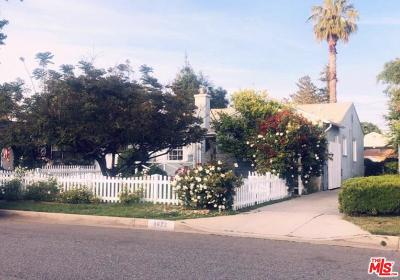 Sherman Oaks Single Family Home For Sale: 5622 Natick Avenue