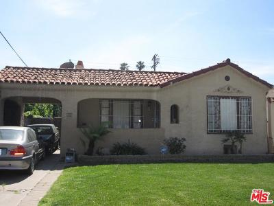 Los Angeles Single Family Home For Sale: 512 West 104th Place