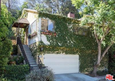 Studio City Single Family Home For Sale: 11346 Sunshine Terrace