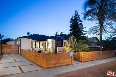 Los Angeles Single Family Home For Sale: 3925 Alla Road