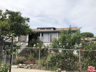 Los Angeles Single Family Home For Sale: 1375 East 57th Street